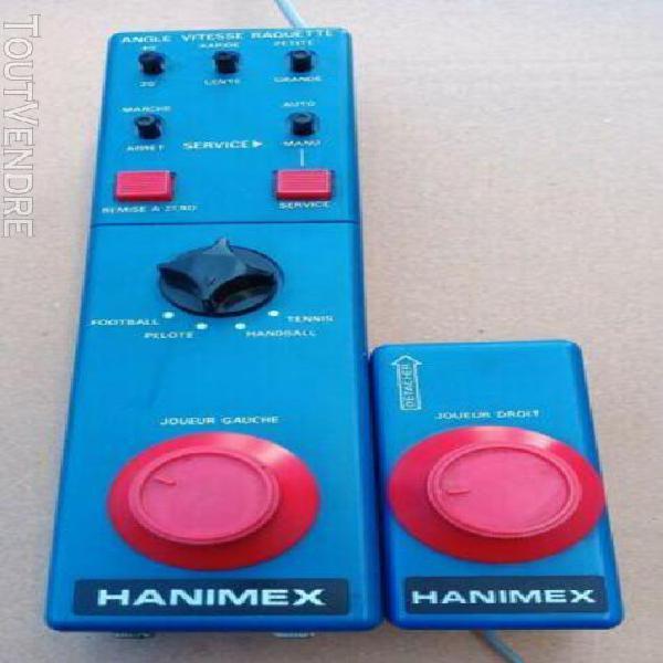 console hanimex 666s pal 1978 electronic tv game non testée