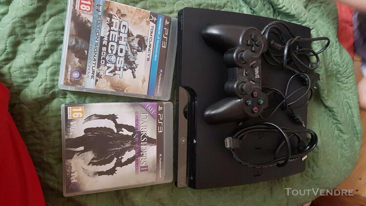 Console sony ps3 manette et jeux