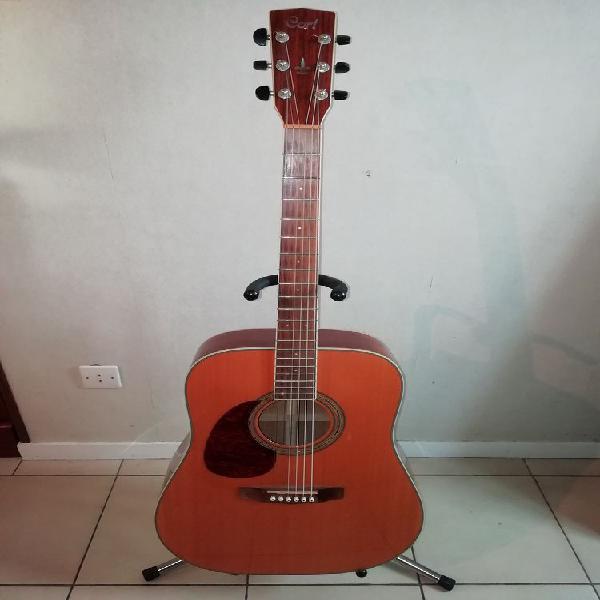 Guitare folk acoustique cort gaucher lh earth 200 cort