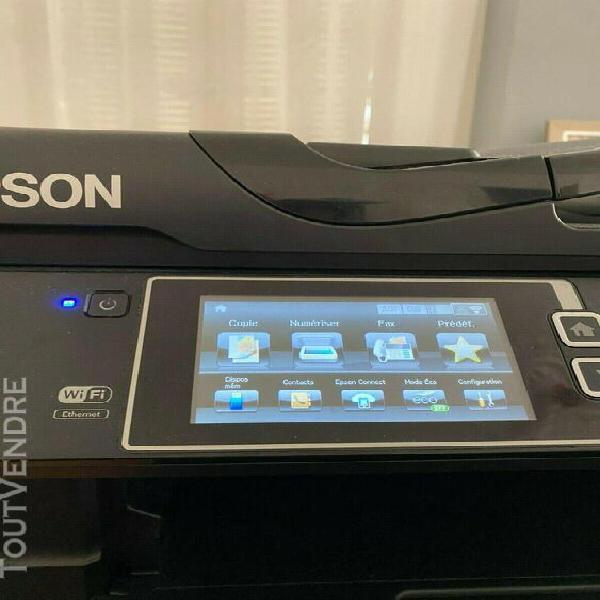 Imprimante multifonction epson couleur workforce wf7620 wifi