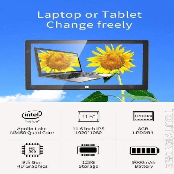 Jumper ezpad pro 8 clavier convertible ordinateur portable 1