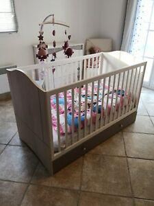 lit à barreaux pour bébé méline 140 x 70 cmgalipette