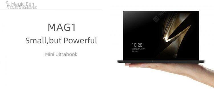 Magic ben mag1 4g lte ordinateur portable de poche 8,9 pouce