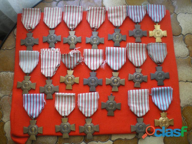 Médailles   Croix du combattant.