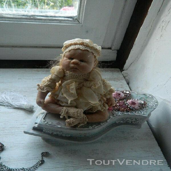 Ooak doll artist, doll baby, artist doll, nel groothedde dol