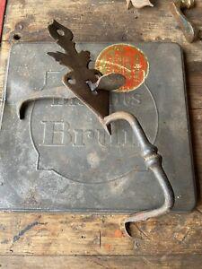 Poignée à poucier à targette loquet serrure de porte