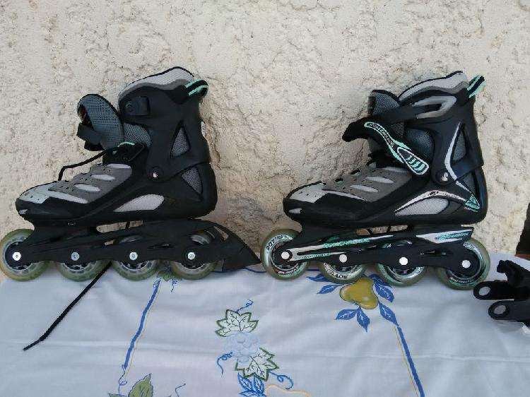 Rollers marque rollerblade training occasion,