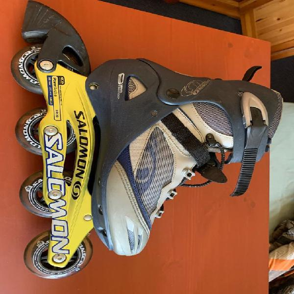 Rollers salomon dr110 taille 46 1/3 neuf, neuilly-plaisance