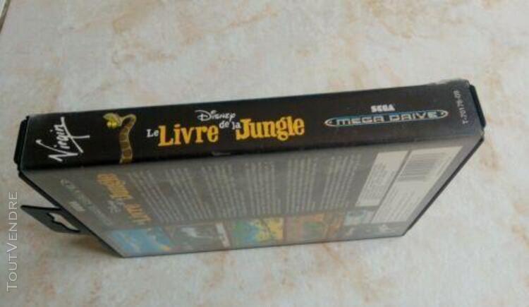 Sega mega drive - le livre de la jungle - pal complet disney