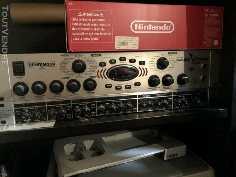 simulateur d'ampli basse 32 modèles behringer bass v-amp