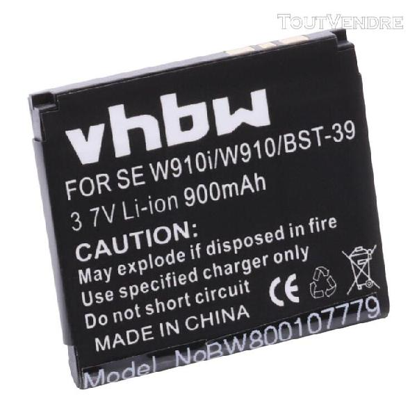 vhbw batterie compatible avec sony-ericsson equinox, j100a,