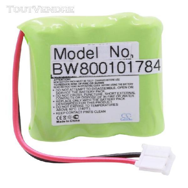 vhbw batterie de téléphone sans fil compatible avec v-tech