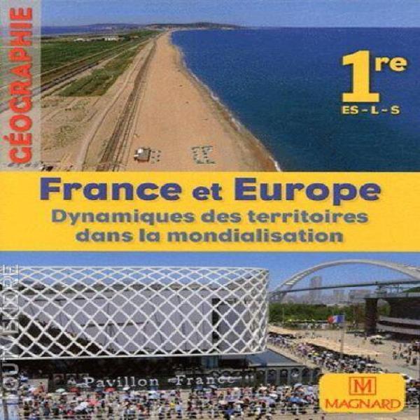 Géographie 1e es-l-s france et europe - dynamiques des