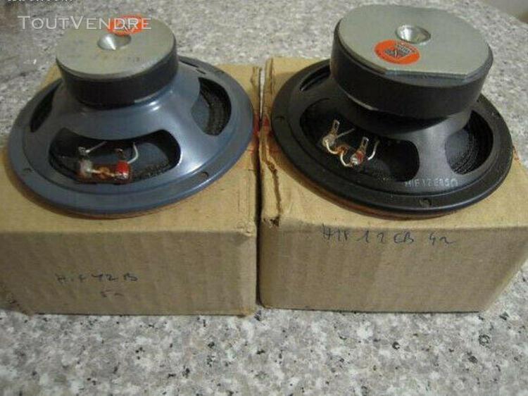 haut-parleurs audax hif12b et hif12eb 4 ohms
