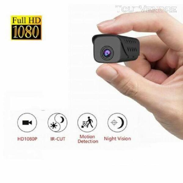 Hd 1080p mini caméra espion sans fil sécurité de maison