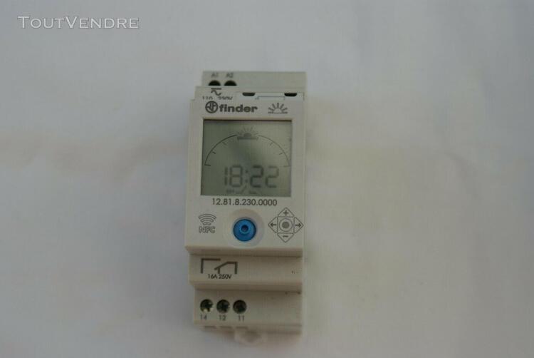 Horloge digitale finder 12.81 nfc, 12.81.8.230.0000, 230 v,1