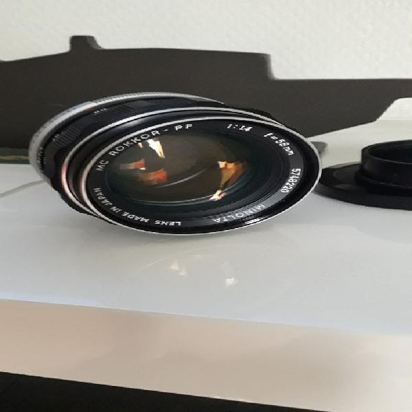 Objectif lens rokkor 1:14 f=58mm occasion, marseille (13015)