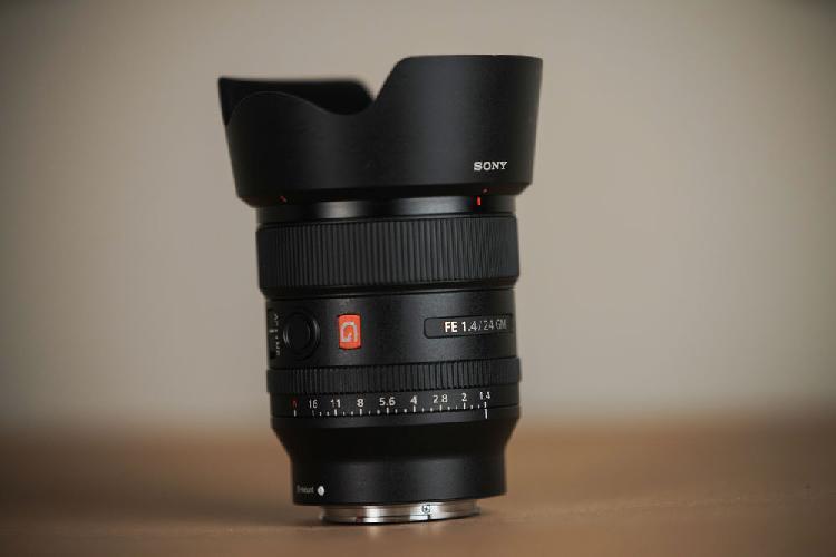 Objectif sony 24mm 1.4 fe gm neuf, poussay (88500)