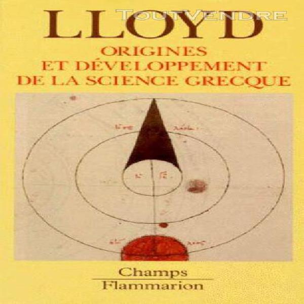 Origines et developpements de la science grecque - magie, ra