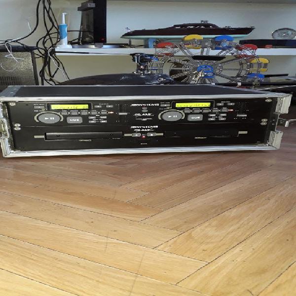 Platine cd jbsystems cd 410 avec malette de transport