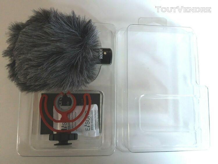 Rode videomicro ultracompact camera mount shotgun microphone