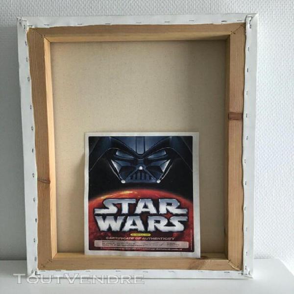 Star wars - épisode iv - affiche du film sur toile - série