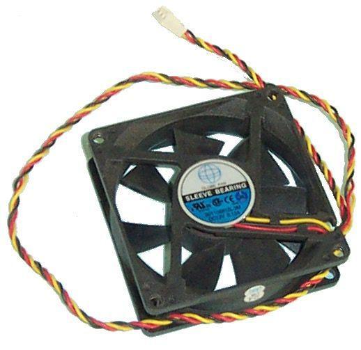 Ventilateur boîtier noir globe fan s01138812l-3m 80mm -