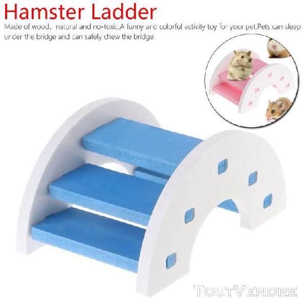 Xm jouet hamster pont arc-en-ciel échelle de hamster jouets