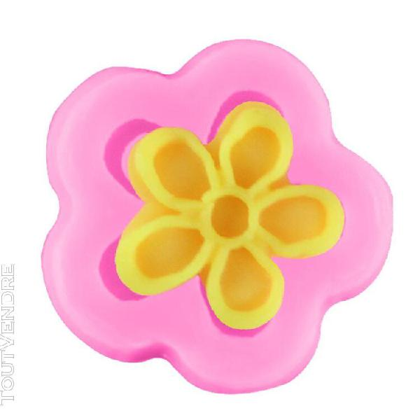Xm moule à gâteau fondant en forme de petite fleur moule