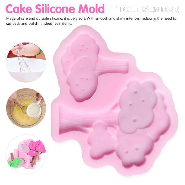 Xm moule à gâteaux en silicone pour pommier fondant