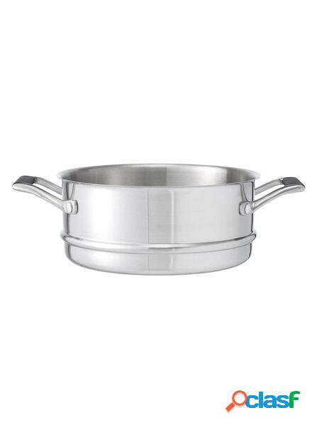 Hema série de casseroles milano panier vapeur 20 cm