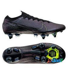 Nike mercurial vapor 13 elite sg-pro anti-clog kinetic black - noir