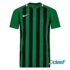 Nike maillot striped division iii - vert/noir