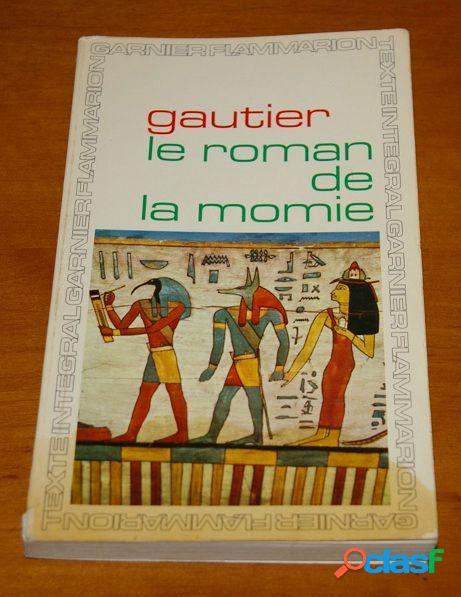 Le roman de la momie, théophile gautier