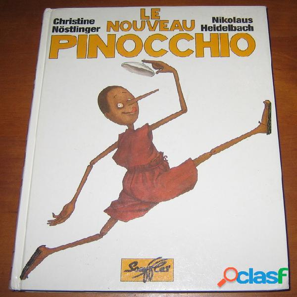 Le nouveau pinocchio, christine nöstlinger et nikolaus heidelbach