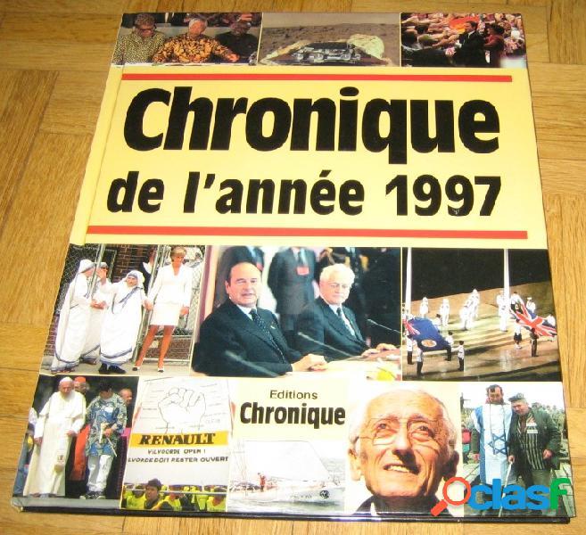 Chronique de l'année 1997