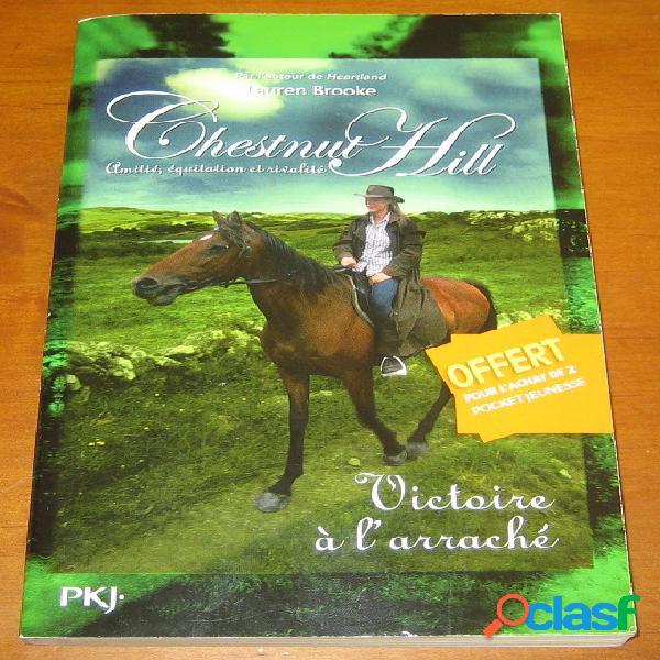 Chestnut hill 4 – victoire à l'arraché, lauren brooke