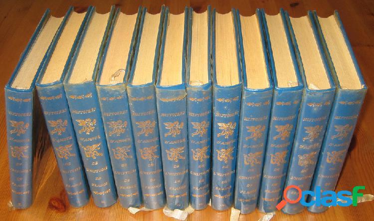 Histoires d'amour de l'histoire de france (12 premiers tomes), guy breton