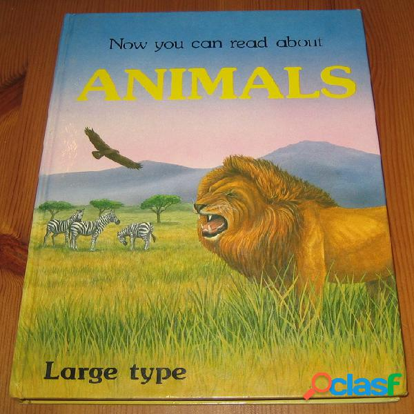 Now you can read about animals