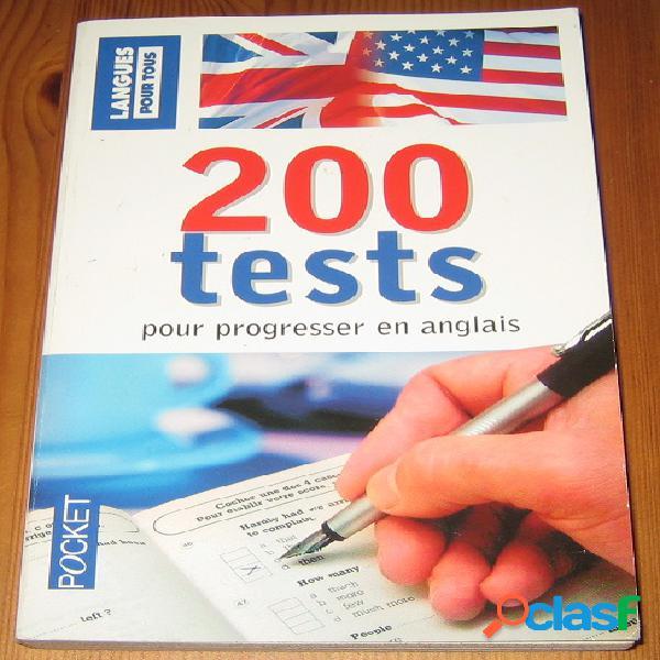 200 tests pour progresser en anglais