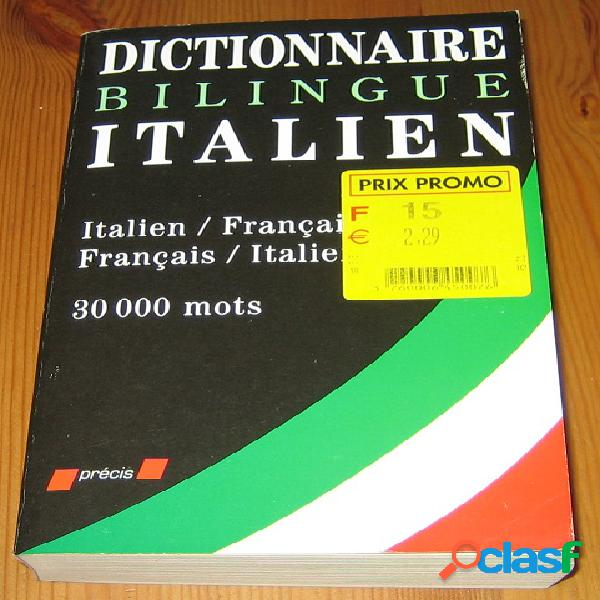 Dictionnaire bilingue italien / français