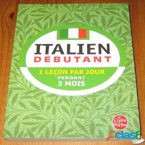 Italien débutant 1 leçon par jour