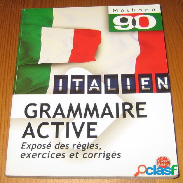 Italien, grammaire active