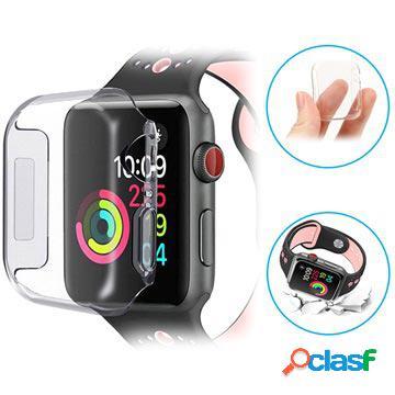 Coque tpu apple watch series 4 ultra fine - 40mm - transparente