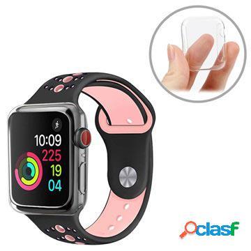 Coque tpu apple watch series 4 ultra fine - 44mm - transparente