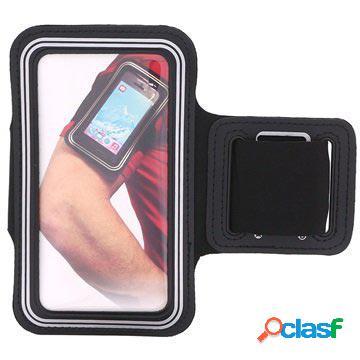 Brassard de sport universel pour smartphone - 4.8 - noir