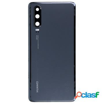 Cache batterie 02352nmm pour huawei p30 - noir
