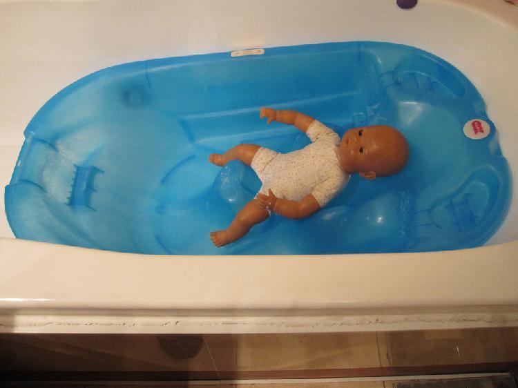 Baignoire bébé occasion, paris (75014)