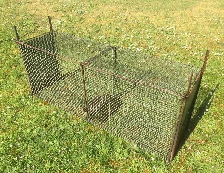 Cage piege animaux autorisee occasion, lamorlaye (60260)