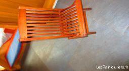 Chaises de jardin en teck pour enfant